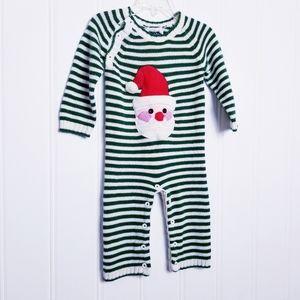 Mudpie Christmas Santa Holiday One Piece Body Suit
